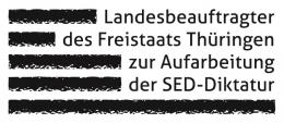 Logo: Landesbeauftragter des Freistaates Thüringen zur Aufarbeitung der SED-Diktatur (ThLA)