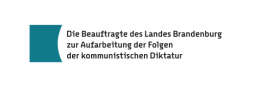 Logo: Beauftragte des Landes Brandenburg zur Aufarbeitung der Folgen der kommunistischen Diktatur (LAkD)