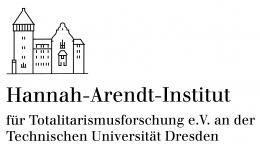 Logo: Hannah-Arendt-Institut für Totalitarismusforschung e.V. an der TU Dresden