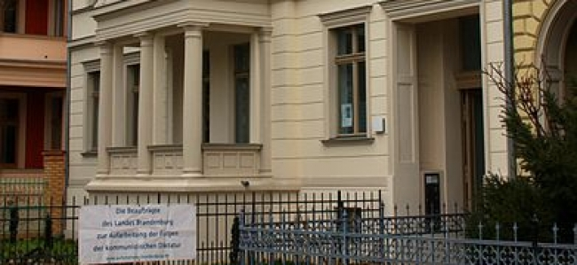 Photo: Außenansicht, Hegelallee 3, Potsdam, (c) Beauftragte des Landes Brandenburg zur Aufarbeitung der Folgen der kommunistischen Diktatur (LAkD)