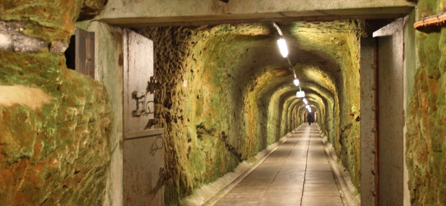 Photo: Tunnel (c) Cold War Museum Stevnsfort