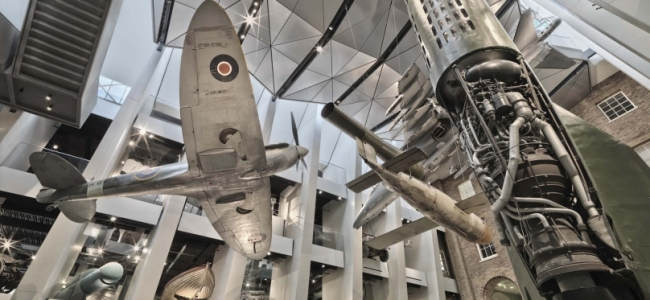 Photo: Atrium (c) Imperial War Museums