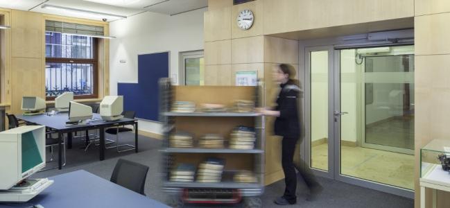 Photo: Lesesaal (c) Politisches Archiv des Auswärtigen Amts