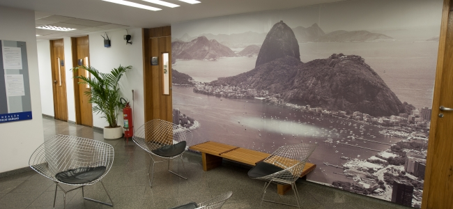 Photo: Innenansicht (c) Center for International Relations at the Getulio Vargas Foundation / Andre Telles
